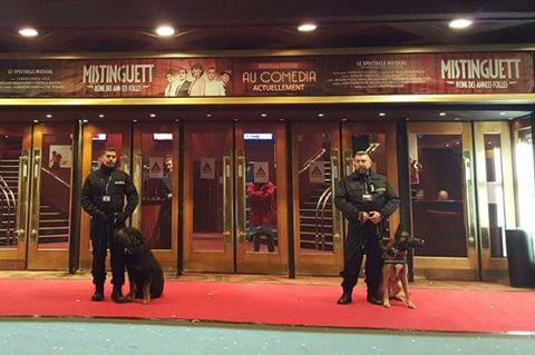 Sécurité et évènementiel par maitre chien sur paris et ile de france